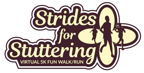 Strides for Stuttering logo